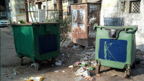 Corporatin of Chennai Dumpster