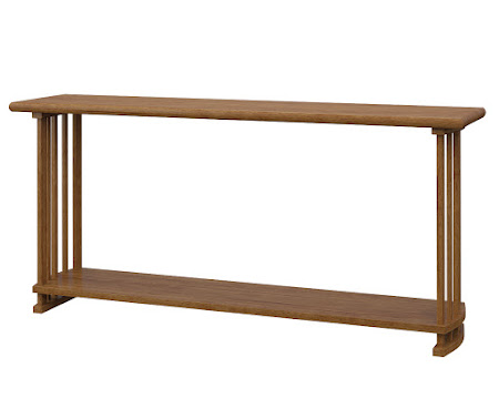 Urbana Sofa Table in Como Maple