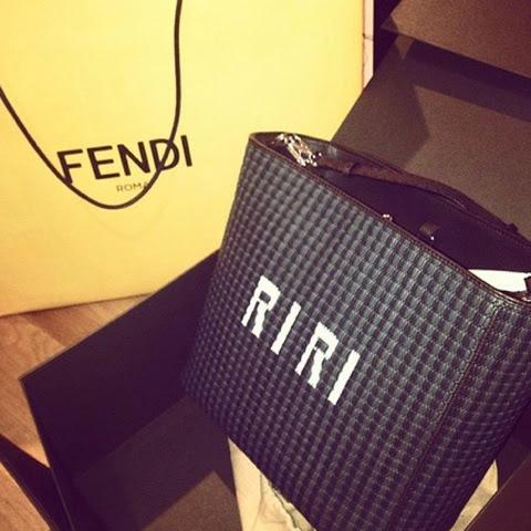 Rihanna will redesign Fendi's 3Baguette Bag