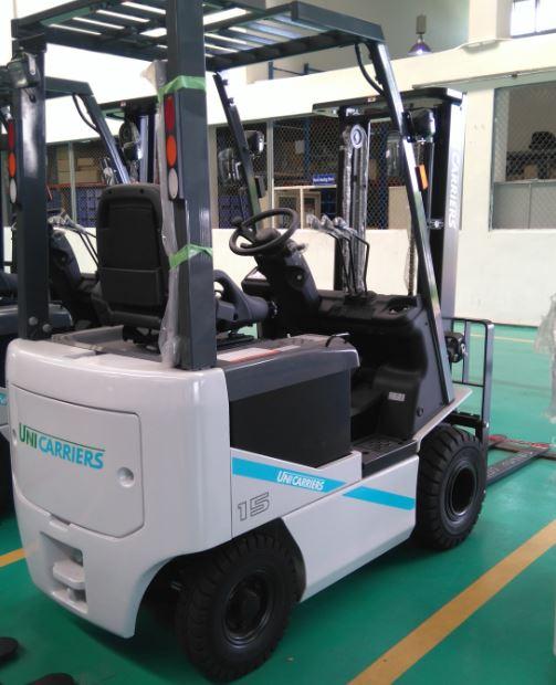 Xe nâng điện Unicarriers Nhật Bản 1.5t và 2.5 tấn