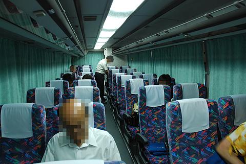 京王バス東「中央高速バス名古屋線」 K50705 車内