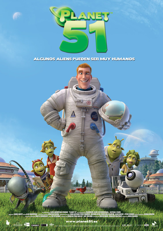 Planet 51 (Jorge Blanco, Marcos Martínez, Javier Abad, 2.009)