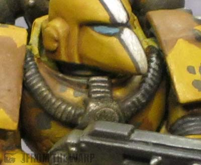 Space marine in camo armour