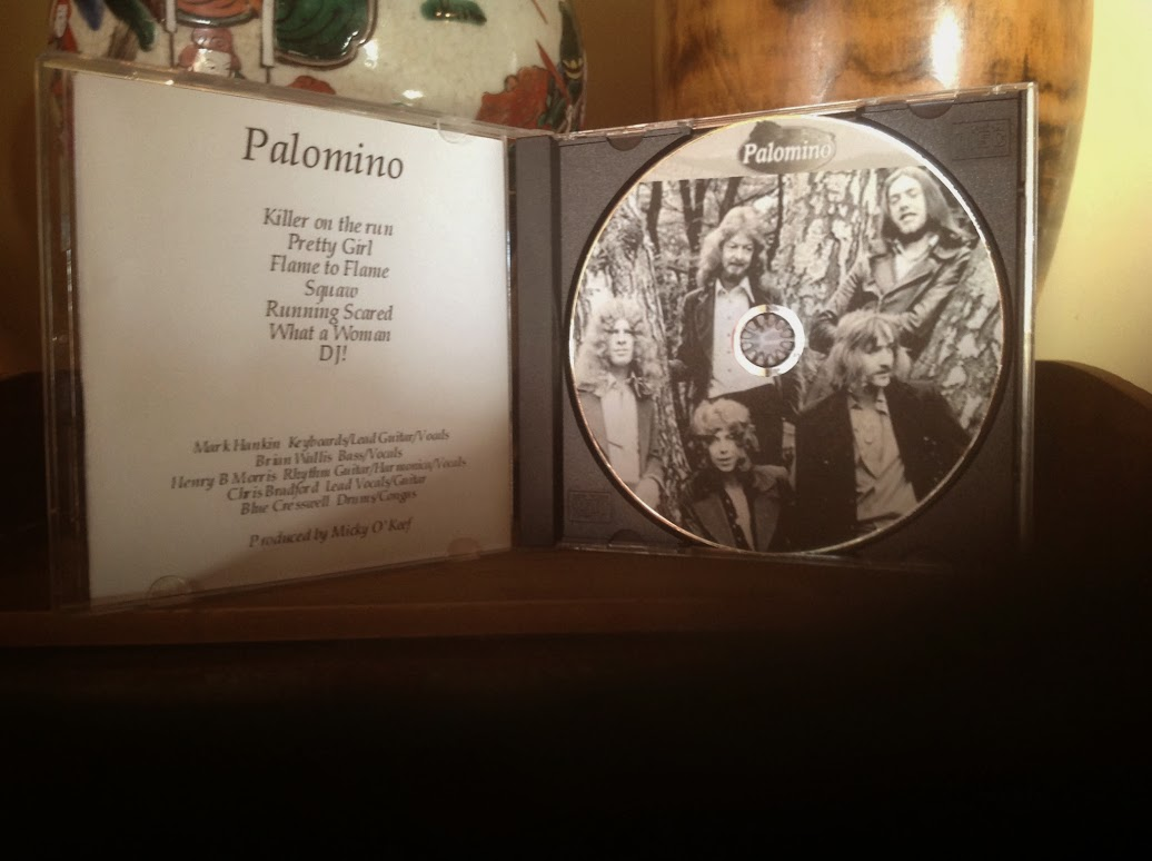 Palomino tracks and photo disk