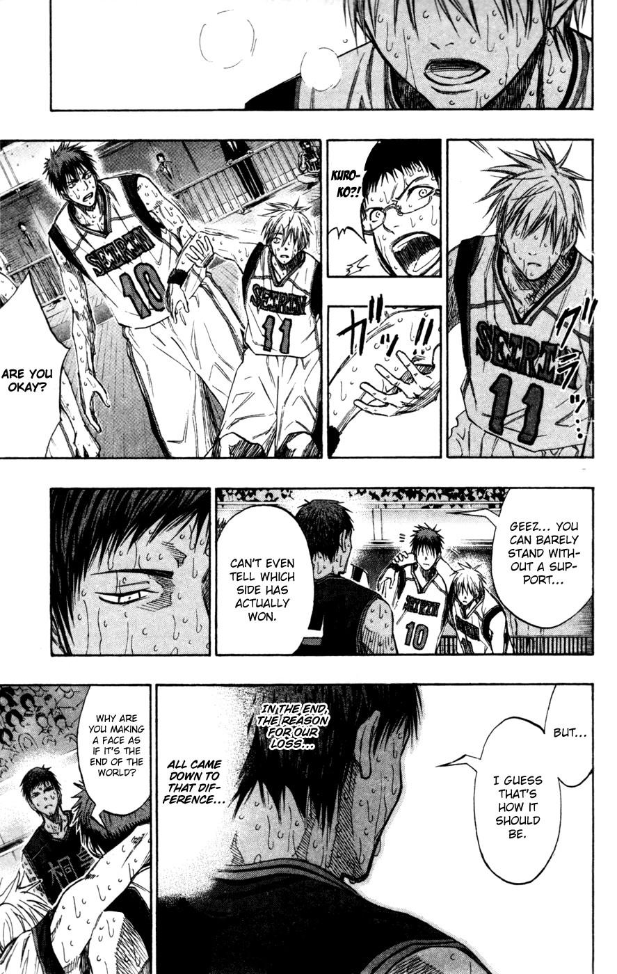 Kuroko no Basket Manga Chapter 139 - Image 11