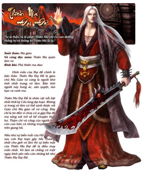 Những nhân vật nổi bật trong Cửu Long Tranh Bá 7