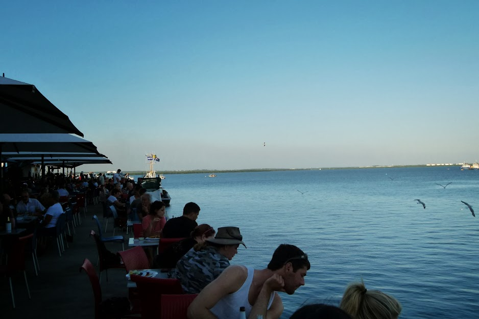 The warfside cafes and bars Darwin