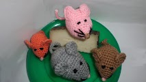 Amigurumi de ratón a ganchillo o crochet