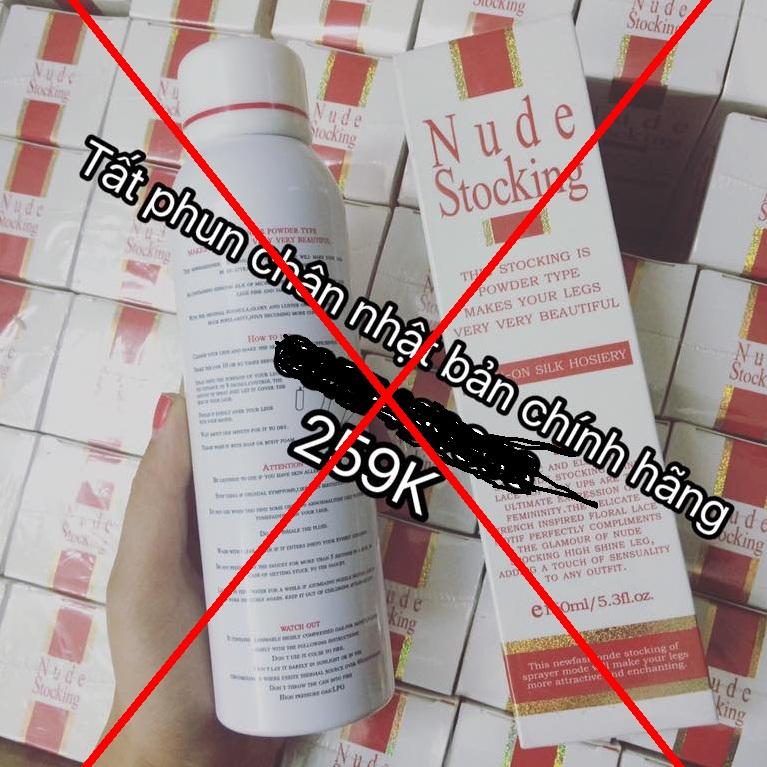 Tất Phun Nude Stocking giá rẻ cẩn thận hàng giả