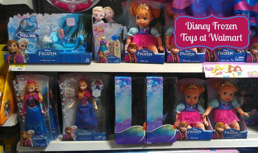 Disney Frozen Toys at Walmart #FrozenFun #shop