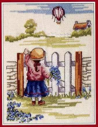 Girl Stuff – Birdhouse Cross Stitch « Cross Stitch Patterns