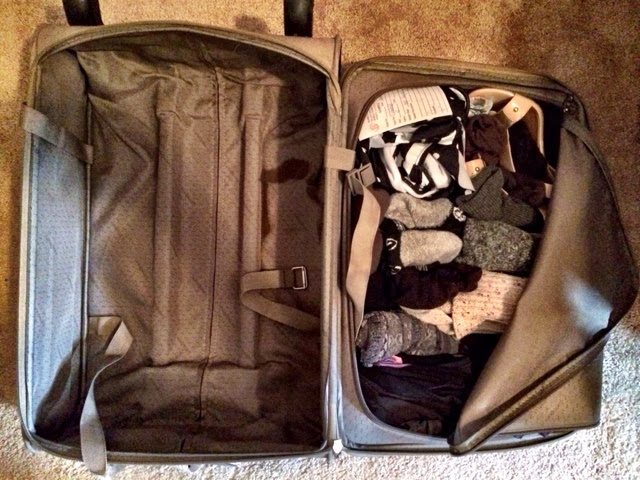 suitcase, packing, creative solutions