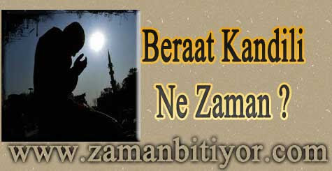 2012 Beraat Kandili Ne Zaman ?