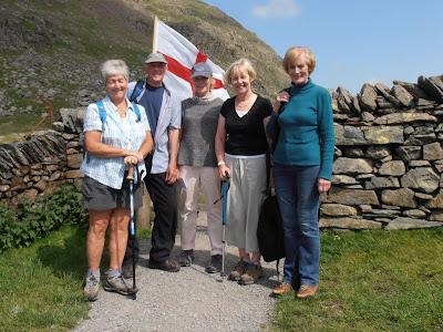 Pat Dyson, Brian & Jan King, Sandra Bailey & Pat Hanson