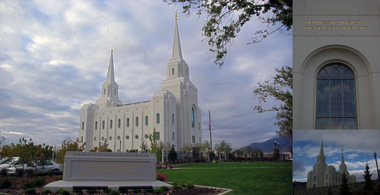 Brigham City Utah Temple, October 13, 2012