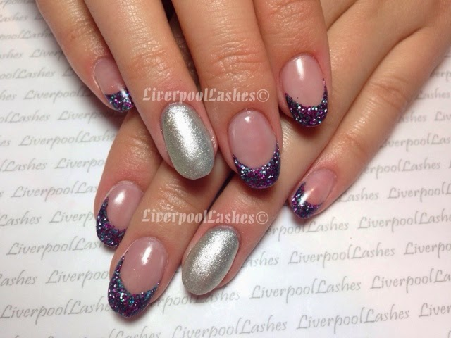 liverpoollashes liverpool lashes pro beauty blogger glitter tip acrylics lecente she devil stardust galaxy