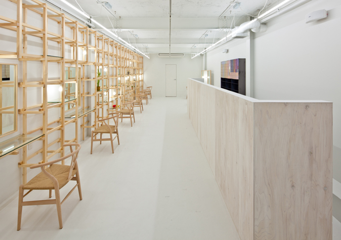 # end...Link 空間連結:Yasunari Tsukada在日本大阪的簡約木框架沙龍! 4