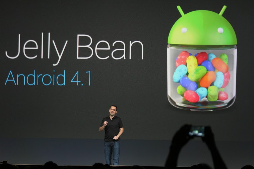 Google presenta Android Jelly Bean 4.1
