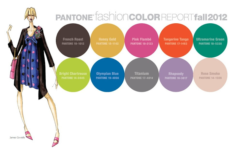 Pantone Fall 2012 Colors