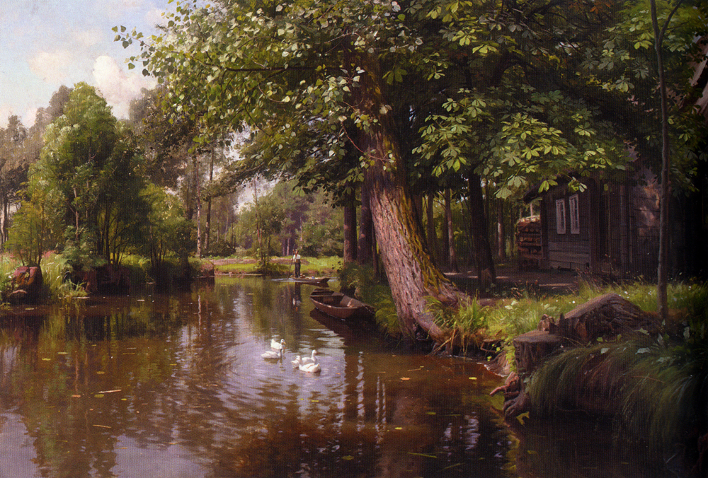 Peder Mork Monsted - On the River