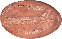 Schiphol Airport penny