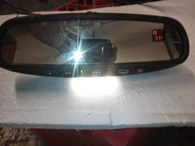GNTX-341 Compass Temp Mirror w//Homelink® w//LED Maplight COMPLETE KIT NEW PRICE