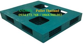 Pallet nhựa mặt bít cao 200mm Thailand