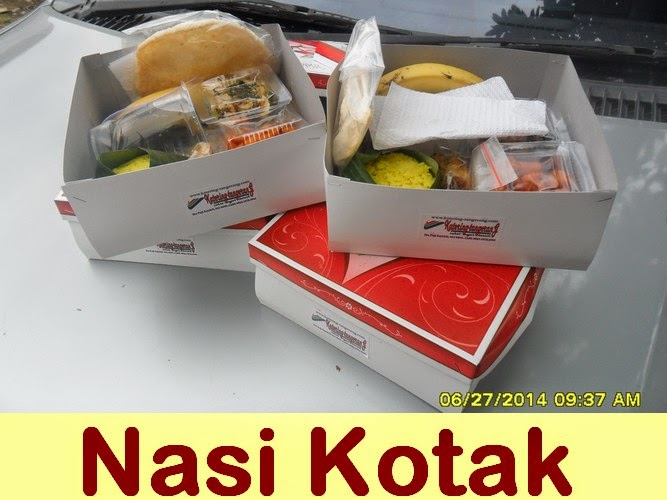 Nasi Kotak Bandara Soekarno-Hatta