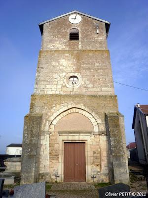 BAGNEUX (54) - Eglise paroissiale Saint-Rémy