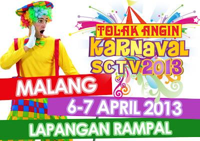 Karnaval SCTV 2013 | Malang | 6-7 April 2013 [image by www.sctv.co.id]