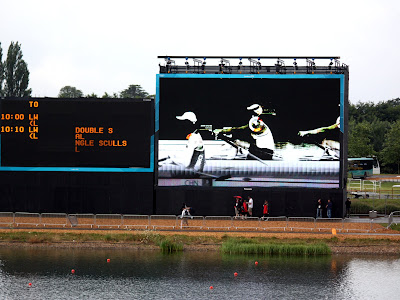 Video at the London Olympics Rowing