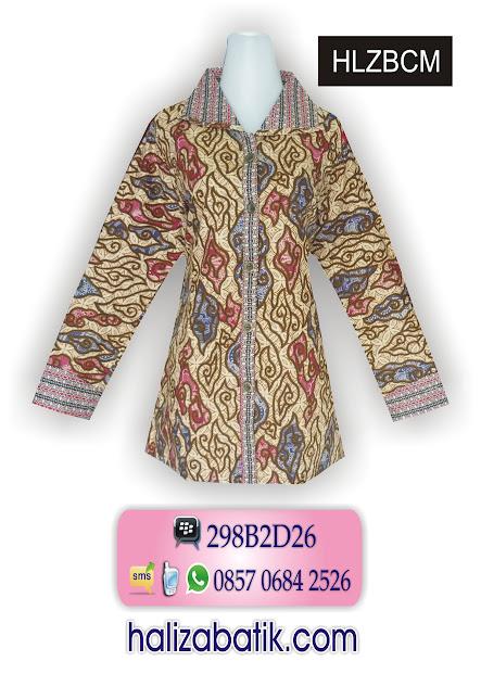 model baju batik wanita, baju batik online, baju batik modern terbaru