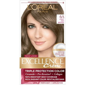 Thuốc nhuộm tóc Loreal Excellence Creme 6A hàng Mỹ xách tay