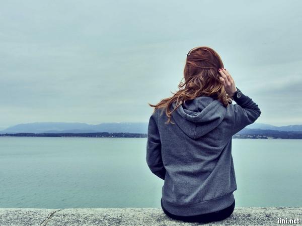 ảnh biển cô đơn nhớ người yêu