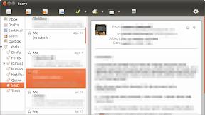 Probando Geary 0.2, un cliente de correo ligero, ligero