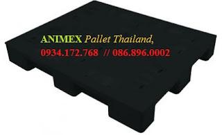 Pallet nhựa mặt bítThái Lan nhập khẩu