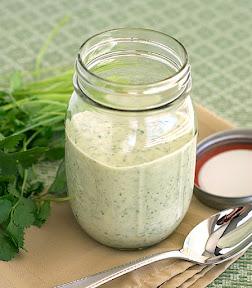 cilantro lime creamy dressing