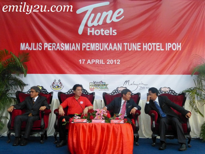 Official Launching Ceremony: Tune Hotel Ipoh