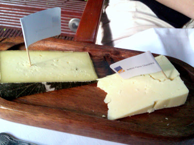Cheese at the Montague hotel in London
