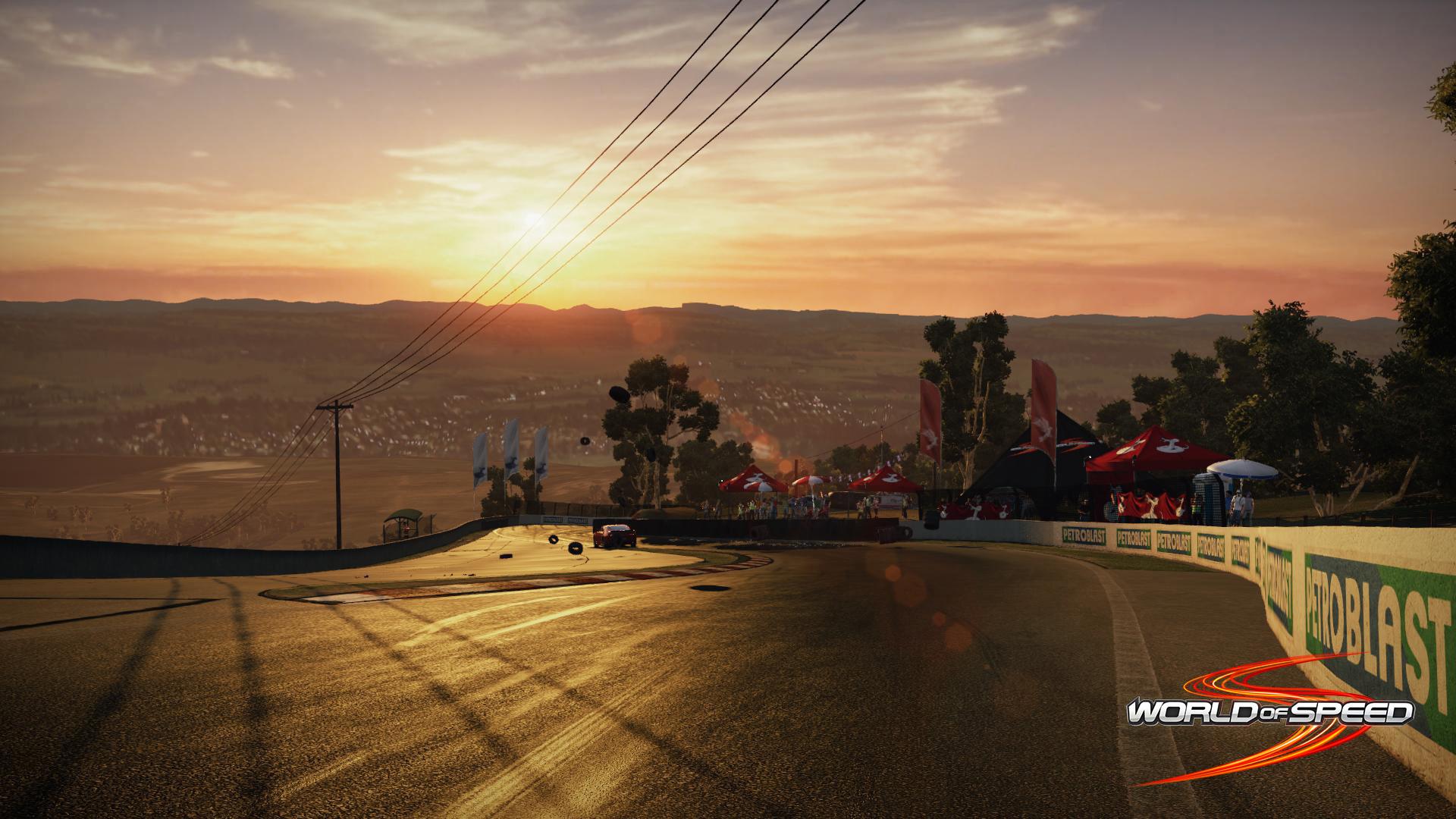 Ngắm trường đua Bathurst trong World of Speed - Ảnh 1