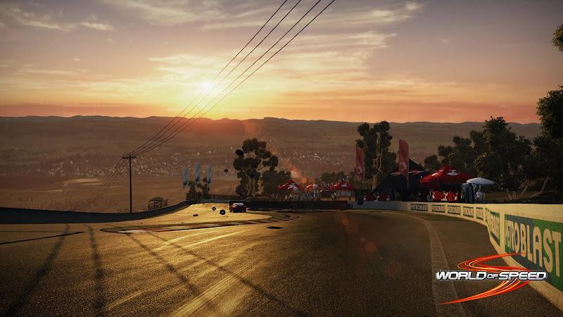 Ngắm trường đua Bathurst trong World of Speed 2