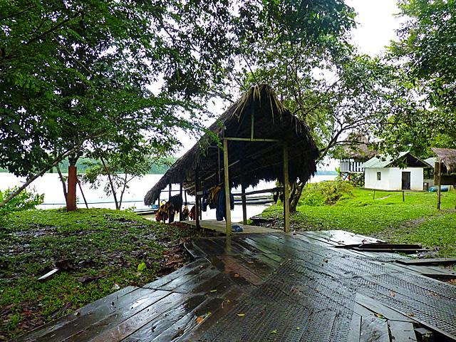 Sacha Lodge landing site