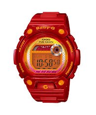 Jam Tangan Wanita Tali Karet   Casio Baby G : BGS-100SC-1ADR