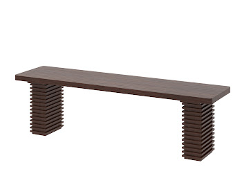 Alvarez dining bench
