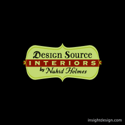 Design Source Interiors by Nahib Holmes Logo design Wichita graphic design.