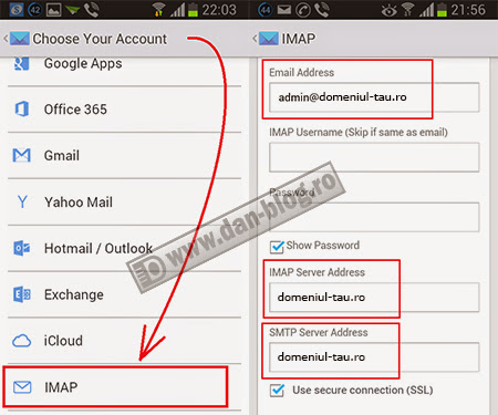 CloudMagic Setari client mail Android 02 CloudMagic   client de mail pentru Android, iOS