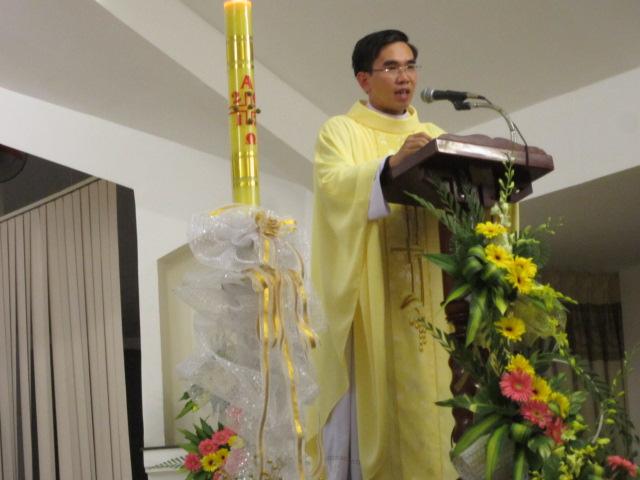 Thánh lễ Vọng Phục sinh tại Tòa Giám Mục Nha Trang