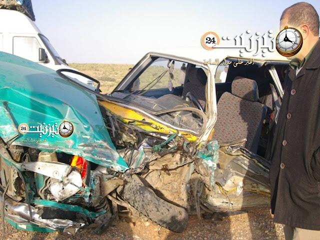 ارتفاع عدد قتلى حادثة قنطرة ماسة إلى اثنين ونقل جريحين في حالة خطر إلى أكادير