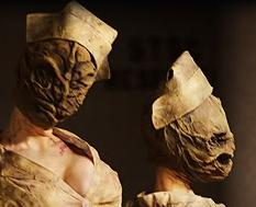 La Petite Cosplay PROGRESO Nurse de Silent Hill Pelcula Gorro