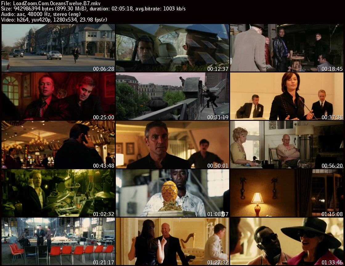 movie screenshot of Ocean's Twelve (2004) fdmovie.com